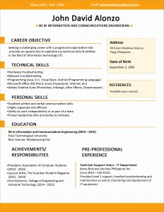 Resume Template for Part Time Job - Summer Jobs In Date form Resume Part Time Job Resume Examples