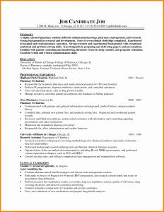 Resume Template for Pharmacy Technician - Pharmacy Technician Job Description for Resume Recent Tech Resume