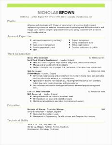 Resume Template for Scientist - 55 Fresh Science Resume Examples