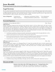 Resume Template for Secretary - Legal Resume Examples Law Student Resume Template Best Resume