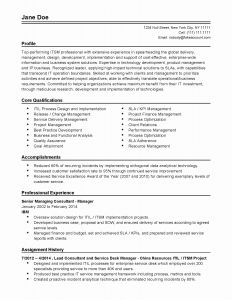 Resume Template for Senior Management - Executive Secretary Resume Lovely Resume Template Executive