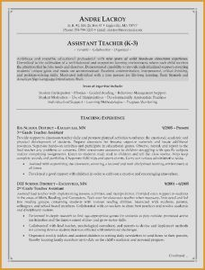 Resume Template for Teaching assistant - Fice assistant Resume Sample Inspirational Resume for Teacher