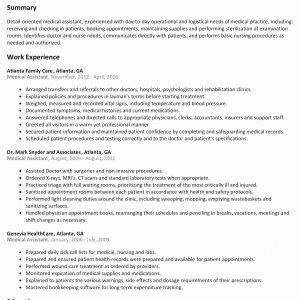 Resume Template Healthcare - Medical Resume Samples Magnificent Medical Resume Samples Awesome