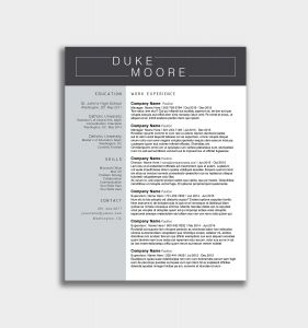 Resume Template Powerpoint - √ Fresh Resume Template Ppt Baskanai Infographic Resume Template