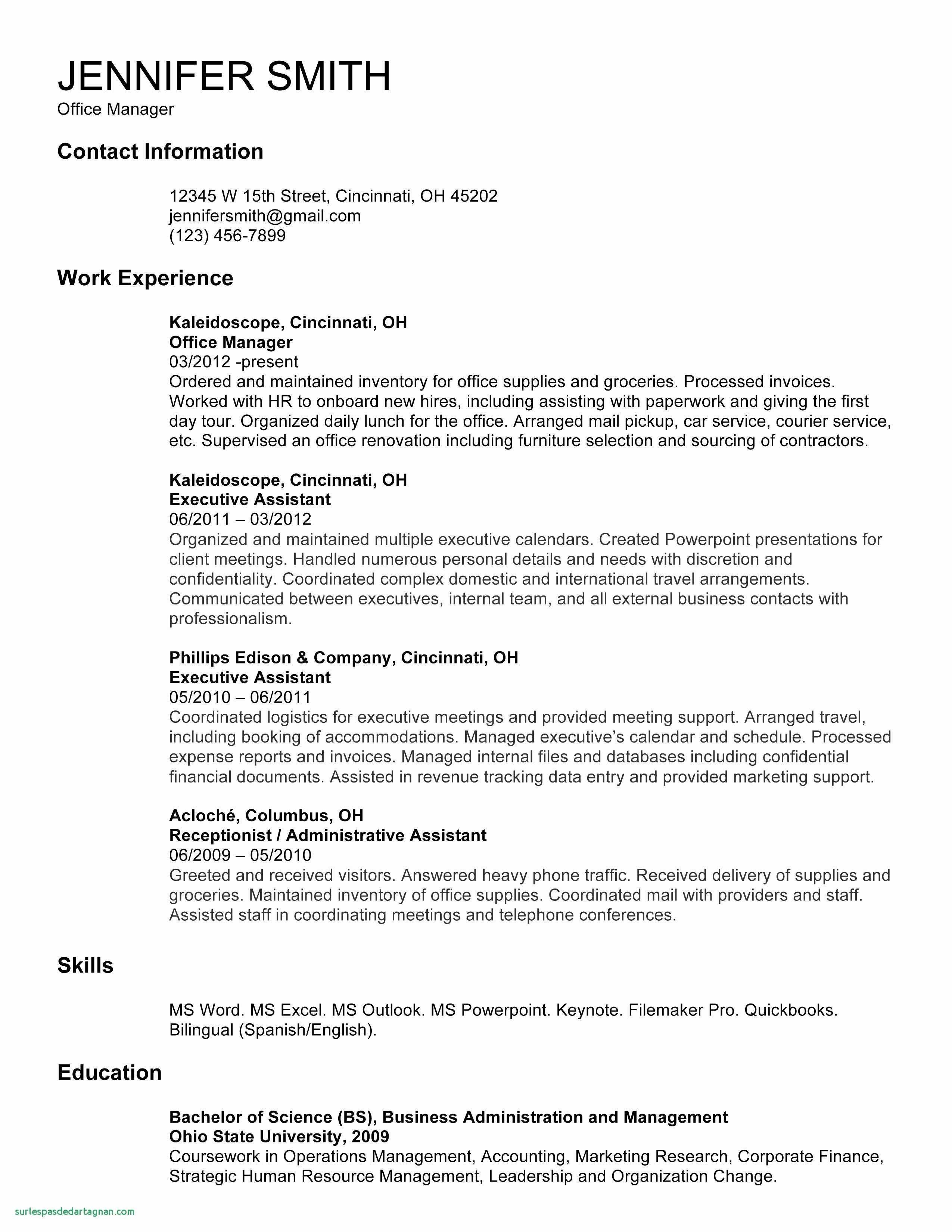 resume template powerpoint example-Powerpoint Resume Template – ¢Ë†Å¡ Resume Template Download Free Luxury Empty Resume 0d Archives 12-c