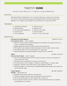 Resume Template Restaurant - How to Write A Resume Experience New Restaurant Resume Sample Unique