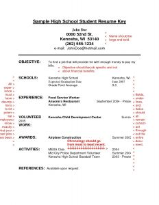 Resume Template Restaurant - 35 Best Restaurant Resume Sample