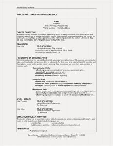 Resume Template Restaurant - Sample Resume for Manager Position Fresh Elegant Grapher Resume