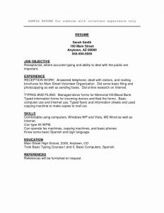 Resume Template with Volunteer Experience - Example Information Technology Resume Examples Vcuregistry