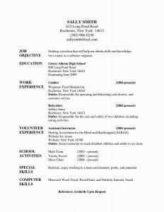 Resume Template Word 2003 - 2 Page Resume Examples Lovely Nanny Resumes New Nanny Resume Example