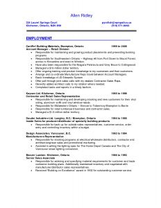 Retail Sales associate Resume Template - 41 Fresh Sales Resume Sample