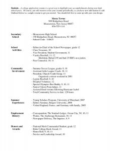 Rutgers Resume Template - 17 New Resume Templates for Highschool Students