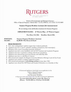 Rutgers Resume Template - Collection Resume Examples Refrence ¢Ë†Å¡ 2 Page Resume Examples