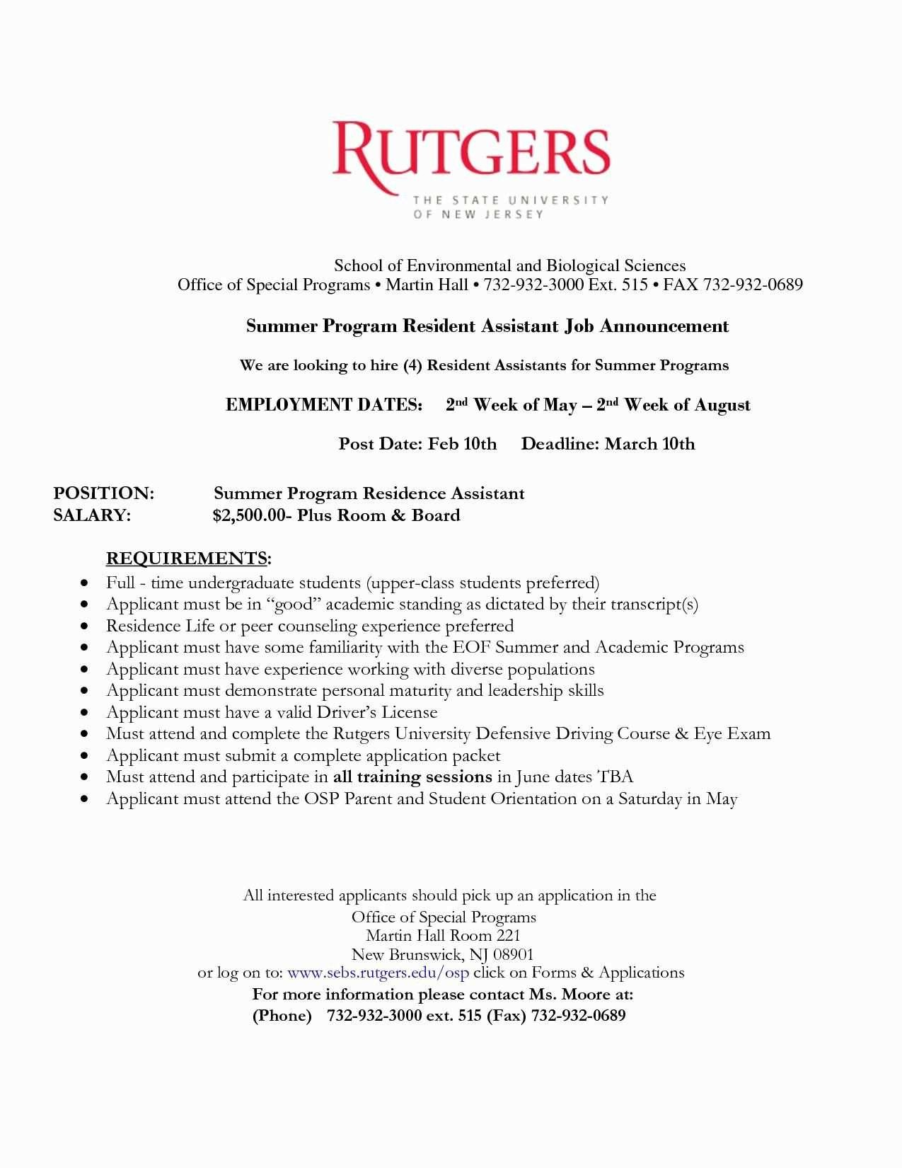 rutgers resume template Collection-Pages Resume Template New ¢Ë†Å¡ 2 Page Resume Examples Lovely Sample Profile For Resume Resume 15-a