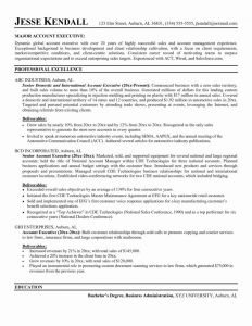 Sales Executive Resume Template - Restaurant Resume Sample Modest Examples 0d Good Looking It Manager