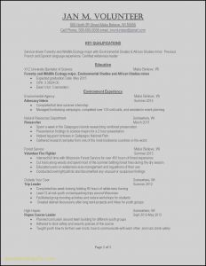 Science Resume Template - Resume Examples for Warehouse Position Recent Example Job Resume