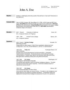 Scientist Resume Template - Awesome Omputer Science Resume Example