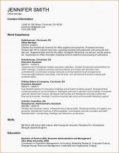 Secretary Resume Template - Entry Level Cna Resume Best Entry Level Cna Resume Administrative