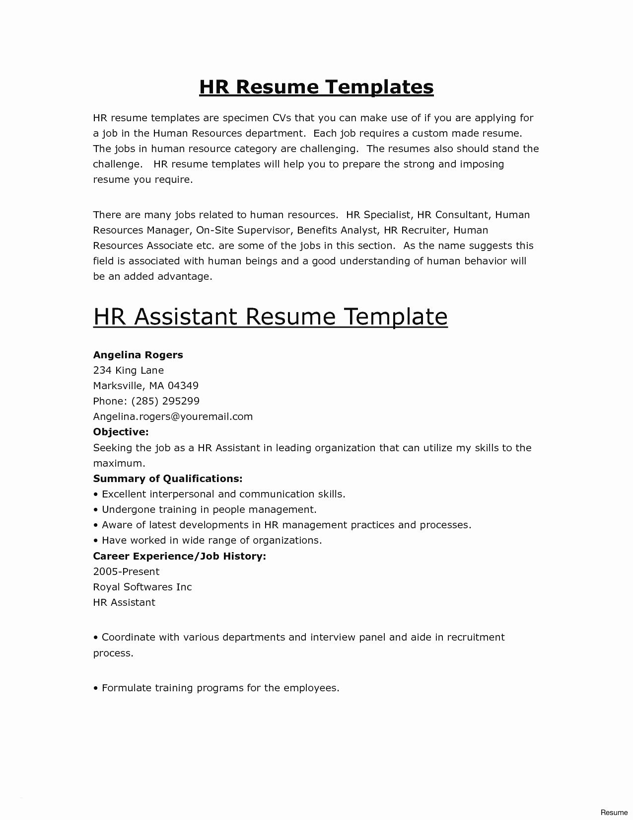 self employed resume template Collection-Self Employed Resume New Luxury Examples Resumes Ecologist Resume 0d Information 17-n