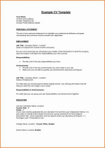 Should You Use A Resume Template - Personal Profile format In Resume Luxury Luxury Resume Pdf Beautiful