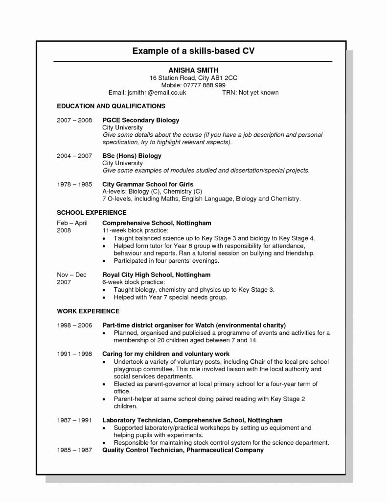 Usa Resume Template from boardresult2018.in