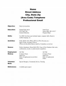 Skillsusa Resume Template - Amazing Ideas Jobs for Highschool Students with No Experience