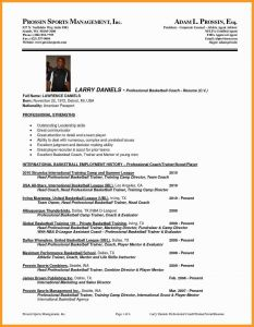 Soccer Coach Resume Template - College Basketball Coach Resume Inspirationa Football Coaching