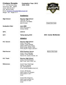 Soccer Resume Template - Coaching Resume Samples Unique Resumes and Cover Letters Elegant