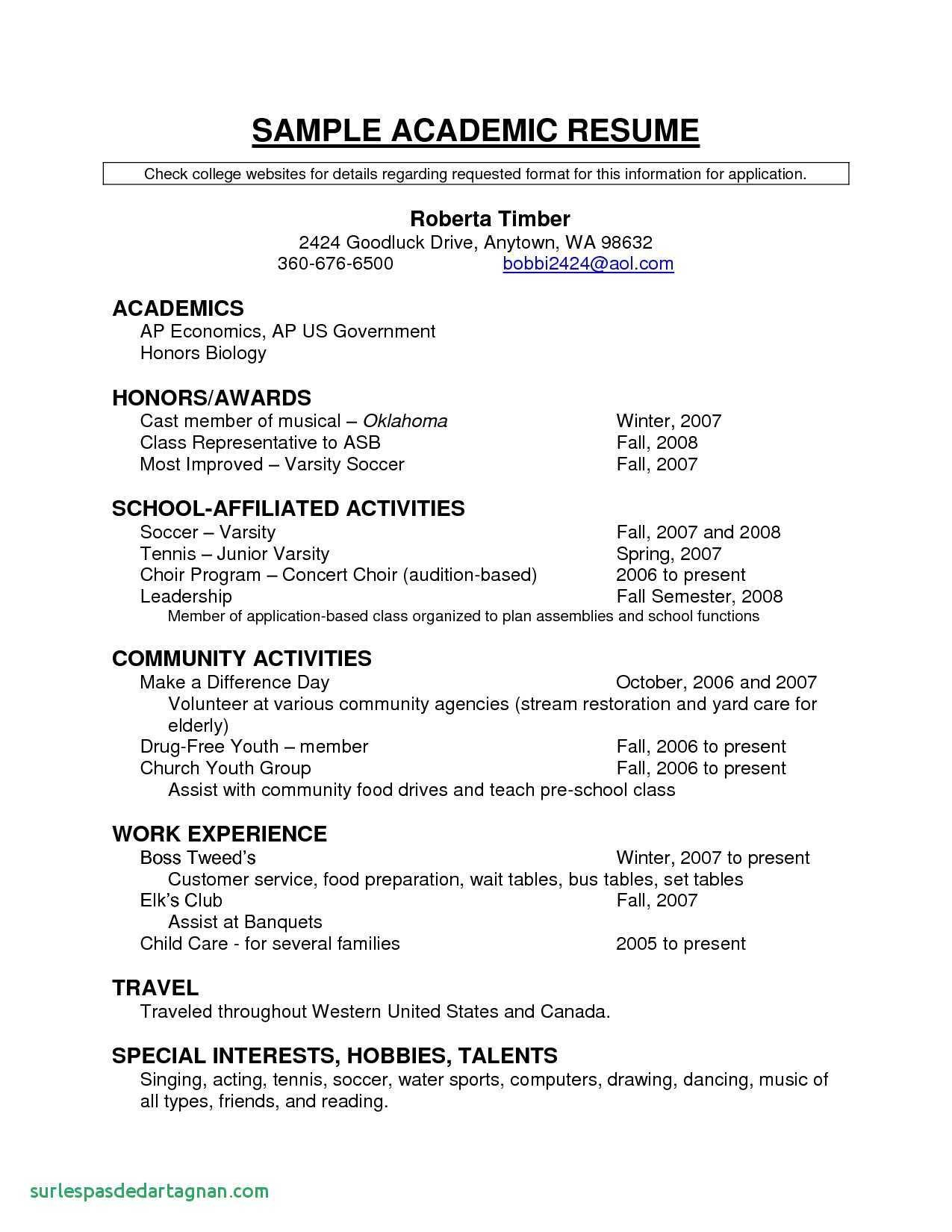 soccer resume template for college example-Information 11-c