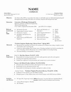 Social Media Resume Template - Nanny Resume Template Inspirational Nanny Resume Samples New Nanny
