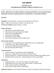 Sports Resume Template - 44 Design Sample social Work Resume