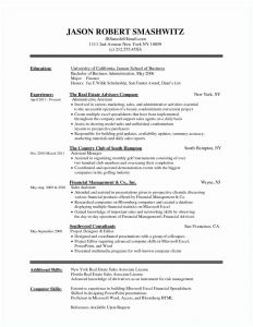 Sports Resume Template - Free Mx Resume Templates