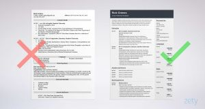 Stanford Resume Template - Entry Level Resume Sample and Plete Guide [ 20 Examples]