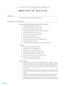 Substitute Teacher Resume Template - Daycare Resume Examples Teacher Resume Example Best Fresh Resume 0d