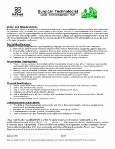 Surgical Technologist Resume Template - Surgical Technician Resume Samples Surgical Tech Resume Sample