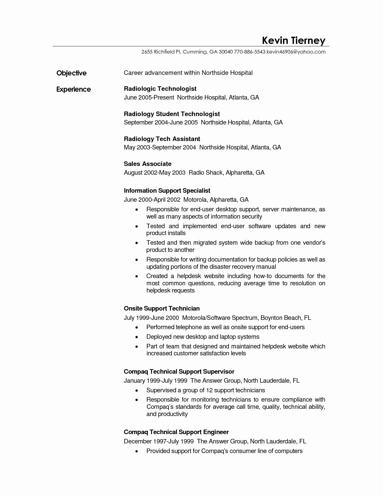 surgical technologist resume template example-37 Fresh Surgical Tech Resume Sample 4-l
