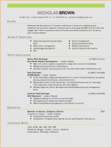 Teacher Resume Template Download - 48 New Teacher Resume Template Free