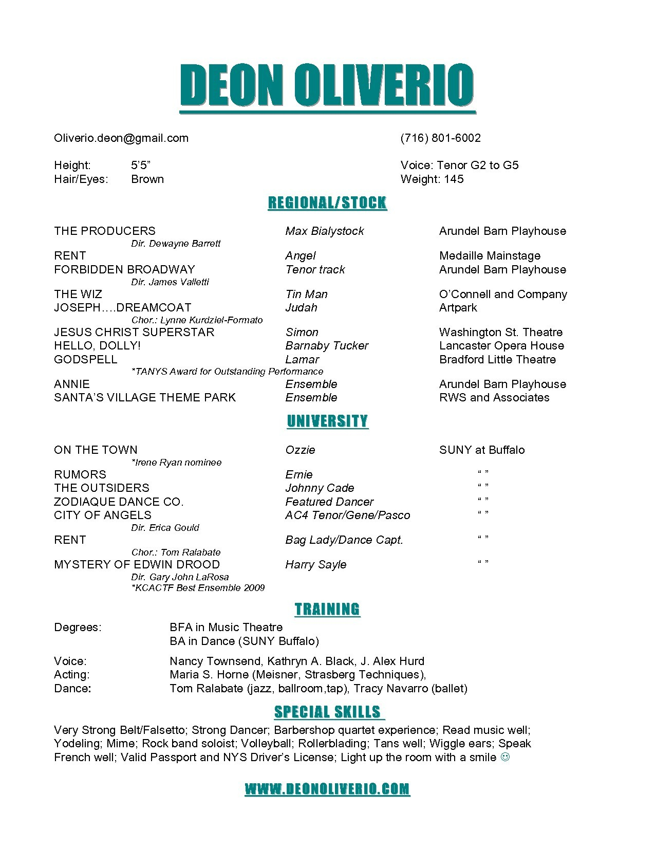 13 tech theatre resume template samples