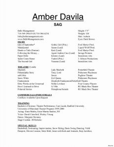 Technical theatre Resume Template - 44 Awesome Resume Template Resume Templates Ideas 2018