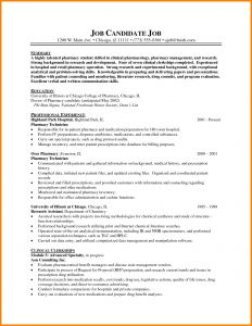 Technician Resume Template - Popular Pharmacy Technician Resume No Experience Vcuregistry