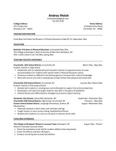 Temple University Resume Template - Temple Resume format Gulijobs
