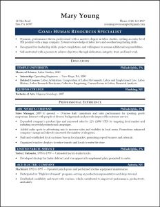 Temple University Resume Template - Legal assistant Deutsch