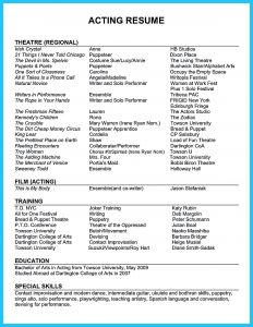 Theatre Resume Template Google Docs - Resume Templates Free Google Docs Nmdnconference Example