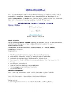 Therapist Resume Template - Massage therapy Resume Best Luxury Resume Examples for