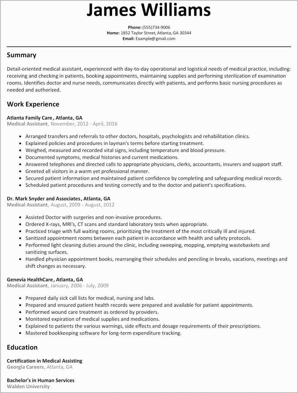 11 tsa leap resume template examples