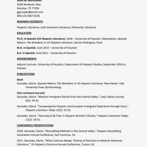 Uh Resume Template - Curriculum Vitae Cv Samples and Writing Tips