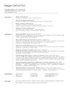 Uh Resume Template - Writing Creative Essays