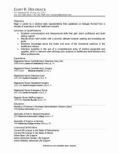 University Of Florida Resume Template - Objective Resume Samples New Unique Business Resume Objective New I