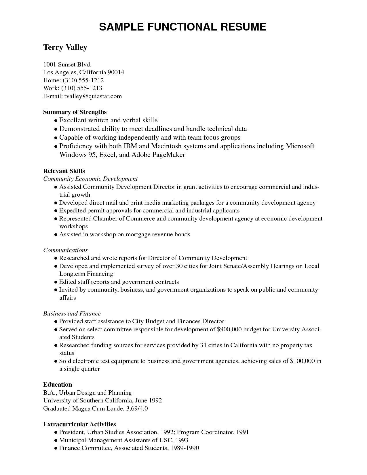 14 usc resume template samples