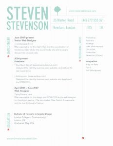 Ux Resume Template - Web Designer Resume Template